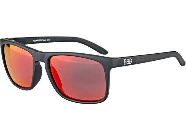 BBB Town PZ PC MLC BSG-56 Gafas deportivas, matte black/red